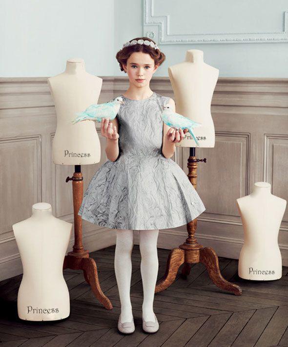 Детское платье dior