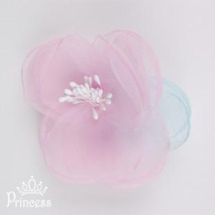 Заколка-цветок