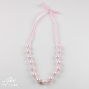 Фото: Нежно-розовые бусы (артикул 1038-light pink) - изображение 2