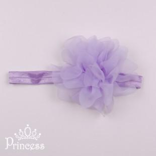 Фото: Детская повязка на голову (артикул 1114-violet) - изображение 2