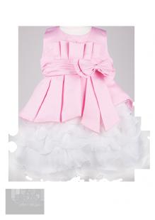 Фото: Нарядное платье для девочки с пышной юбкой (артикул 3026-light pink) - изображение 2