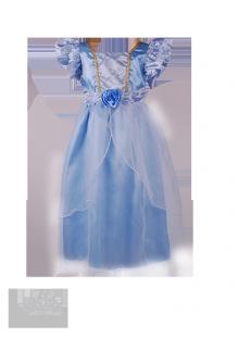Фото: Красивое платье Золушки для девочки (артикул 3076-light blue)