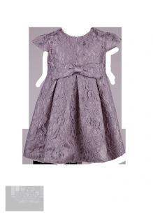 Фото: Красивое платье для девочки из кружева (артикул 3100-grey) - изображение 2