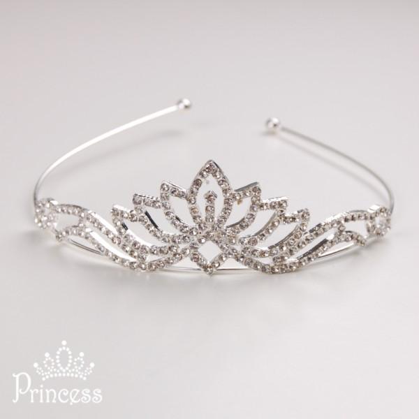 Фото: Новогодний обруч-корона (артикул 1004-silver)