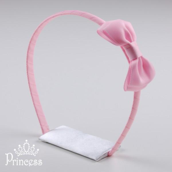 Фото: Нежно-розовый ободок для волос (артикул 1012-light pink)