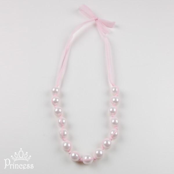 Фото: Нежно-розовые бусы (артикул 1038-light pink)