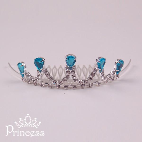 Фото: Корона Elza для девочки (артикул 1089-blue)