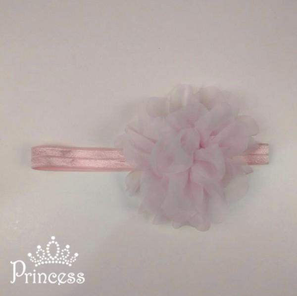Фото: Повязка для волос светло-розового цвета (артикул 1114-light pink)