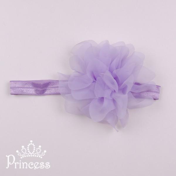Фото: Детская повязка на голову (артикул 1114-violet)
