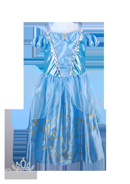Фото: Платье Золушки для малышки (артикул 3014-light blue)