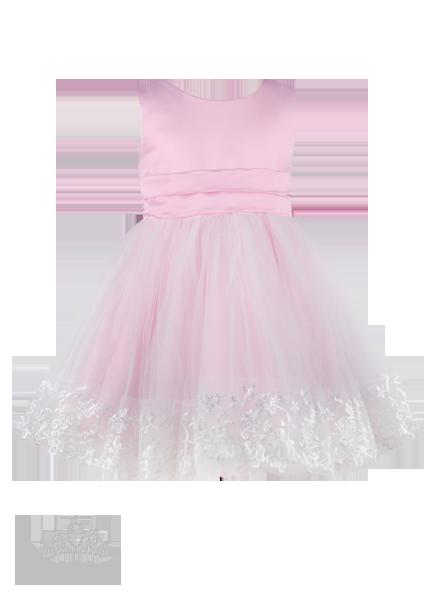 Фото: Элегантное платье на выпускной в детский сад (артикул 3034-light pink)