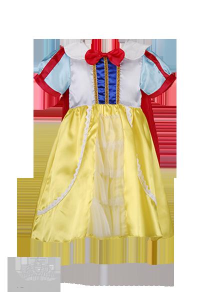Фото: Платье Белоснежки для  принцессы (артикул 3065-yellow)
