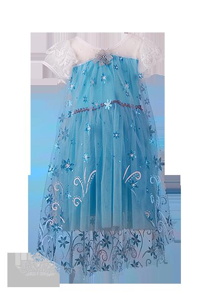 Фото: Красивое платье Эльзы