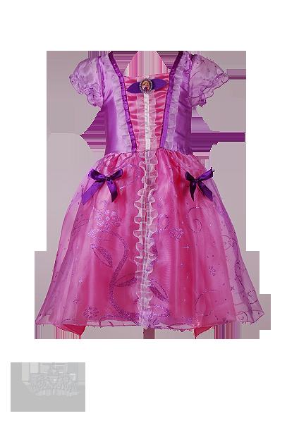 Фото: Карнавальное платье принцессы Рапунцель (артикул 3112-violet)