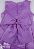 Фото: Вечернее детское платье с многослойной юбкой (артикул 3026-violet) - изображение