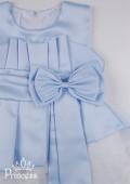 Фото: Платье детское на выпускной светло-голубого цвета (артикул 3026-light blue) - изображение