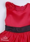 Фото: Вечернее платье  для девочки красного цвета (артикул 3029-red) - изображение