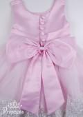 Фото: Элегантное платье на выпускной в детский сад (артикул 3034-light pink) - изображение