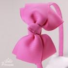 Фото: Обруч с ярким бантом (артикул 1011-pink) - изображение