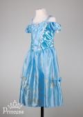 Фото: Платье Золушки для малышки (артикул 3014-light blue) - изображение