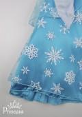 Фото: Новогоднее платье с яркими пайетками (артикул 3066-blue) - изображение