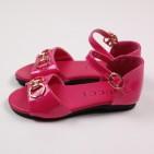 Фото: Босоножки малинового цвета для девочки (артикул Sh 10053-pink) - изображение