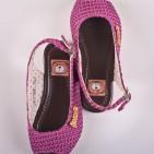 Фото: Яркие босоножки для девочки цвета фуксии (артикул Sh 10014-violet) - изображение