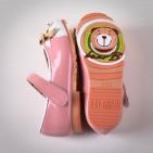 Фото: Туфельки с застежками на липучке (артикул Sh 10005-pink) - изображение