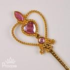 Фото: Аксессуар для девочки - волшебная палочка  (артикул 1071-pink) - изображение