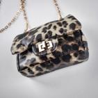 Фото: Детская сумочка с леопардовым принтом (артикул A 30017-light leopard) - изображение