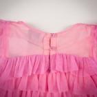 Фото: Брендовое детское платье Gap с рюшами (артикул Gp 50005-red) - изображение