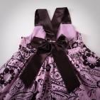 Фото: Платье DKNY для девочек с цветочным узором (артикул O 50098-pink) - изображение