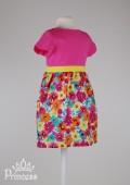Фото: Cherokee. Платье с юбкой в цветочек для девочки (артикул O 50209-colored) - изображение