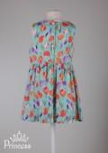 Фото: Платье Jacadi для маленькой девочки с тюльпанами (артикул O 50214-flowers) - изображение