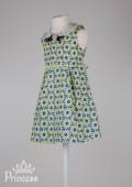 Фото: Детское платье Zara с брошью (артикул O 50275-flowers) - изображение
