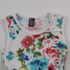 Фото: Детское платье Zara с фатиновой юбкой мятного цвета (артикул O 50232-flowers) - изображение
