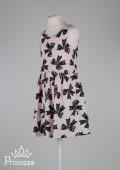 Фото: Платье для девочки H&M с принтом  бантиков (артикул O 50245-light pink) - изображение