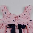 Фото: Marc Jacobs. Детское платье с птичками (артикул O 50298-light pink) - изображение