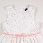 Фото: Платье Zara для юной леди с рисунком (артикул Z 50169-white) - изображение