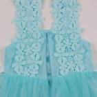 Фото: Детское платье Marc Jacobs лазурного цвета (артикул O 50299-azure) - изображение