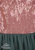 Фото: Необычное платье для маленькой леди (артикул 3085-green) - изображение
