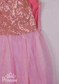 Фото: Розовое платье для маленькой принцессы (артикул 3085-light pink) - изображение
