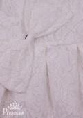 Фото: Детское нарядное платье белого цвета из приятного на ощупь кружева (артикул 3100-white) - изображение