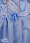 Фото: Красивое платье Золушки для девочки (артикул 3076-light blue) - изображение