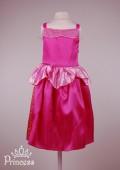 Фото: Детское карнавальное платье Спящей красавицы (артикул 3106-pink) - изображение