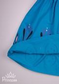 Фото: Костюм Эльзы с накидкой с коронации (артикул 3117-blue) - изображение