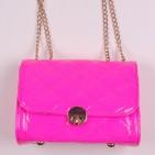 Фото: Детская малиновая сумочка из лакированной кожи (артикул A 30056-pink) - изображение