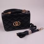 Фото: Брендовая сумочка Chanel для девочки (артикул A 30072-black) - изображение