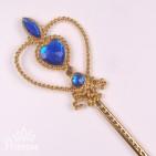 Фото: Золотистая волшебная  палочка (артикул 1091-blue) - изображение