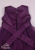 Фото: Эффектное сливовое платье для принцессы (артикул 3120-violet ) - изображение